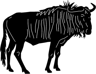 gesneden buffel